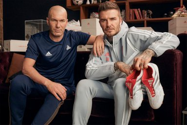 خاطره بازی با حضور ستارگان فوتبال در تیزهای تبلیغاتی