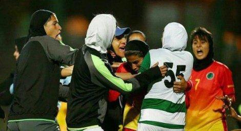 درگیری شدید در لیگ برتر بانوان