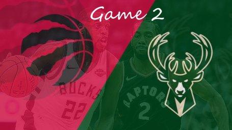 خلاصه بسکتبال میلواکی - تورنتو رپترز (بازی دوم)