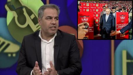 توضیحات عرب درباره پرسپولیسی بودن وزیر و درآمدزایی از اسپانسر