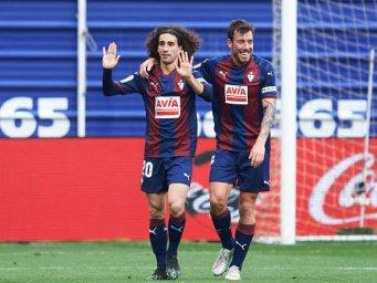 گل اول ایبار به بارسلونا (سوسوریا)