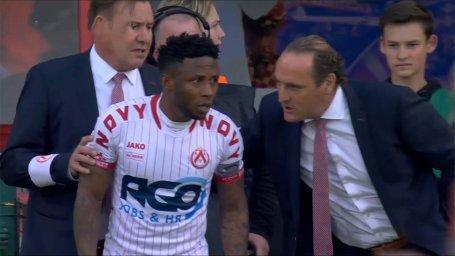 گلزنی ایزکیل پس از 22 ثانیه حضور در بازی مقابل شارلروا