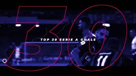 30 گل برتر سری آ در فصل 19-2018