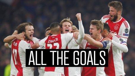 تمام 175 گل آژاکس در لیگ هلند فصل 19-2018 (بخش اول)