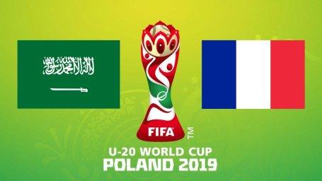 خلاصه بازی فرانسه 2 - عربستان 0 (جام جهانی جوانان)