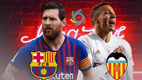 خلاصه بازی بارسلونا 1 - والنسیا 2 (گزارش اختصاصی)