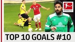 گلهای برتر بازیکنان شماره 10 در بوندسلیگا