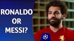 چالش انتخاب رونالدو و مسی از زبان ستاره های فوتبال
