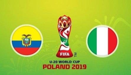 خلاصه بازی اکوادور 0 - ایتالیا 1 ( جام جهانی جوانان )