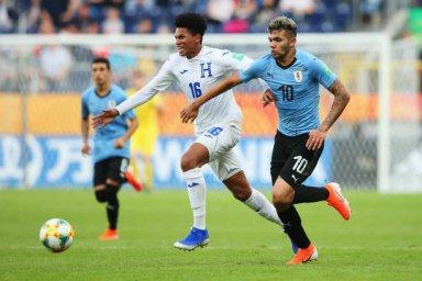 خلاصه بازی هندوراس 0 - اروگوئه 2 (جام جهانی جوانان)