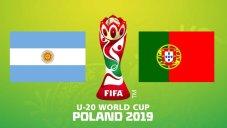 خلاصه بازی پرتغال 0 - آرژانتین 2 (جامجهانیجوانان)