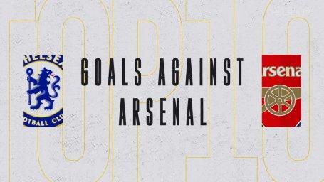 10 گل برتر چلسی برابر آرسنال
