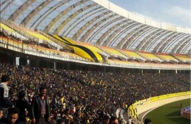 حال و هوای ورزشگاه نقش جهان قبل از بازی
