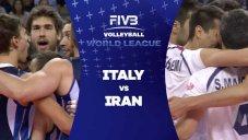 خلاصه والیبال ایران 3 - ایتالیا 1 (لیگ ملت های والیبال)