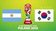 خلاصه بازی کره جنوبی 2 - آرژانتین 1 (جام جهانی جوانان)