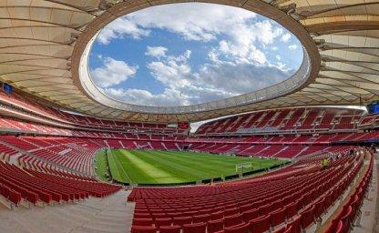 ورزشگاه متروپولیتانو آماده فینال لیگ قهرمانان اروپا