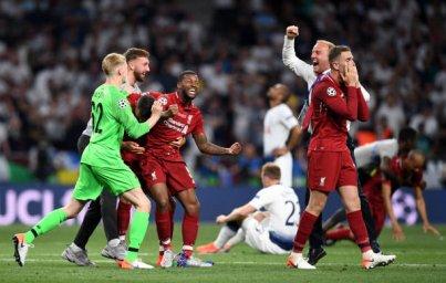 غم و شادی های پس از سوت پایان بازی لیورپول-تاتنهام