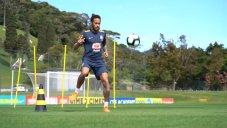 تمرین های اختصاصی نیمار در تیم ملی برزیل