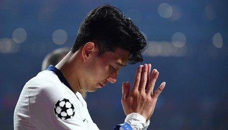 ستاره کرهای تاتنهام در مادرید هم گریه کرد(عکس)