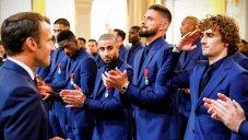 تقدیر رئیس جمهور فرانسه از بازیکنان تیم ملی