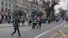 درگیری هواداران انگلیس با پلیس در خیابانهای پورتو