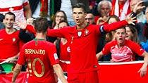 عملکرد کریستیانو رونالدو در برابر تیم ملی سوئیس