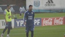 تمرین امروز تیم ملی آرژانتین (16-03-98)