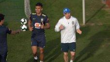 تمرین امروز تیم ملی برزیل (18-03-98)