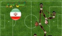 آنالیز آماری بازی ایران - سوریه