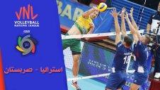 خلاصه والیبال استرالیا 2 - صربستان 3 (لیگ ملت های والیبال)