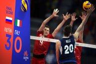 خلاصه والیبال روسیه 3 - ایتالیا 0 (لیگ ملتهای والیبال)