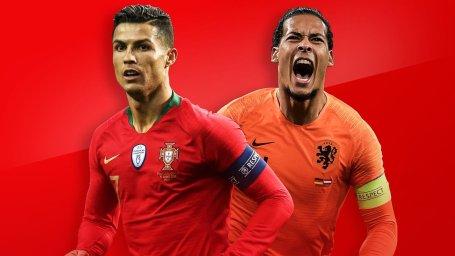 ترکیب اصلی هلند و پرتغال اعلام شد