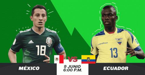 خلاصه بازی مکزیک 3 - اکوادور 2 (دوستانه ملی)