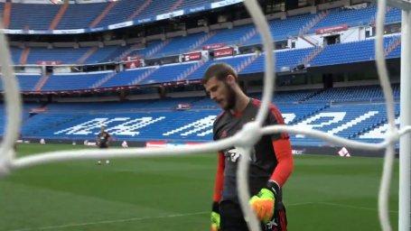 تمرینات دخیا و کپا در تیم ملی اسپانیا