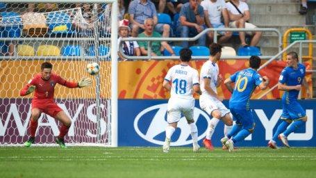 خلاصه بازی اوکراین 1 - ایتالیا 0 (جام جهانی جوانان)