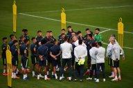 تمرین امروز تیم ملی برزیل (23-03-98)