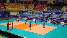 آخرین تمرین تیم ملی روسیه در سالن غدیر