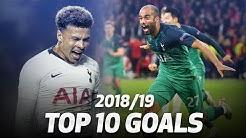 10 گل برتر تاتنهام در فصل 19-2018