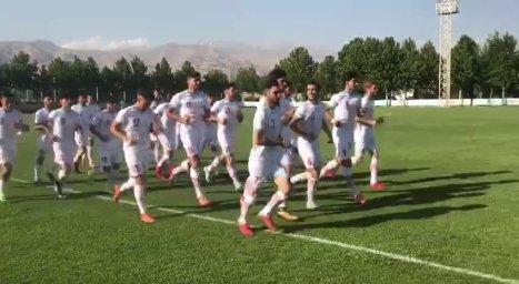 اولین تمرین تیم امید زیرنظر فرهاد مجیدی