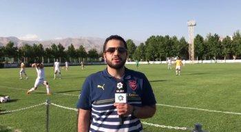 گزارش اختصاصی از تمرین تیم امید با سرمربیگری فرهاد مجیدی