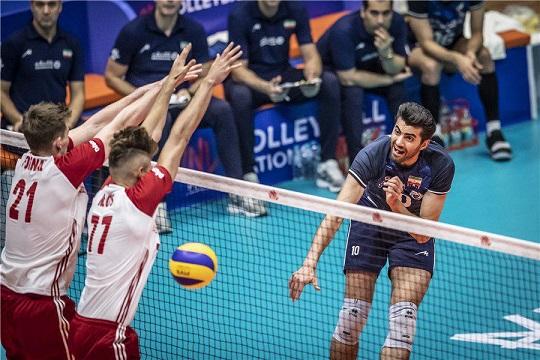 لیگ ملت های والیبال| ایران3 - لهستان2 + فیلم خلاصه بازی