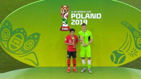 اهدای جوایز فردی جام جهانی زیر 20 سال 2019