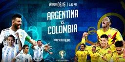 خلاصه بازی آرژانتین 0 - کلمبیا 2 (کوپا آمریکا)