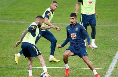 تمرین امروز تیم ملی برزیل 26-03-98