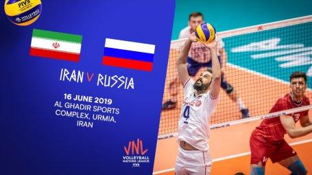خلاصه والیبال ایران 3 - روسیه 0 (لیگ جهانی)