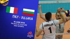 خلاصهوالیبالایتالیا 3-بلغارستان 1 (لیگملتهایوالیبال)