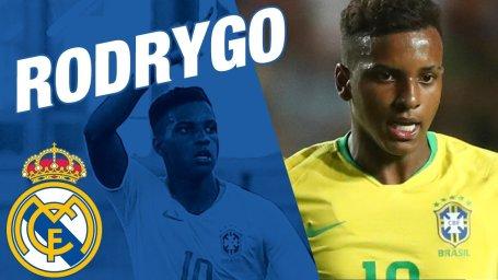 خوش آمدگویی باشگاه رئال به رودریگو بازیکن جدید خود