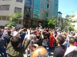 زنده از شیخ بهایی؛ تجمع در حمایت از برانکو