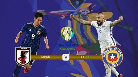 خلاصه فوتبال ژاپن 0 - شیلی 4 (گزارش اختصاصی)