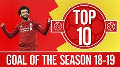 10 گل برتر لیورپول در فصل 19-2018 به انتخاب هواداران